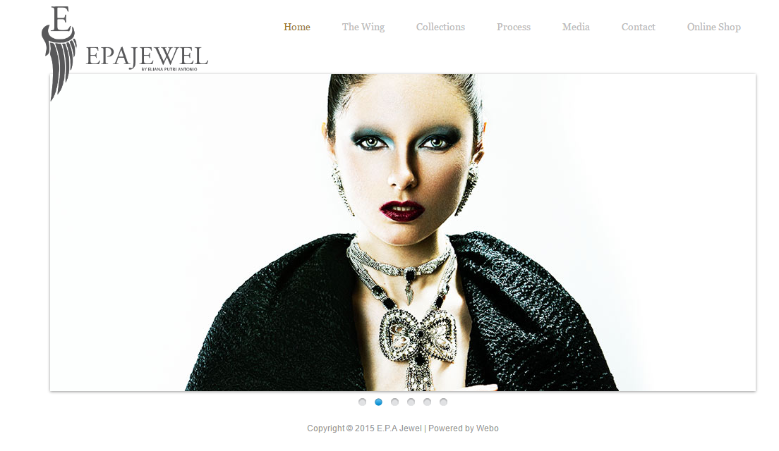 Website epajewel.com